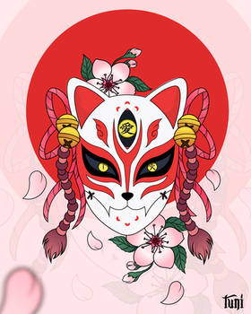 Kitsune-mask