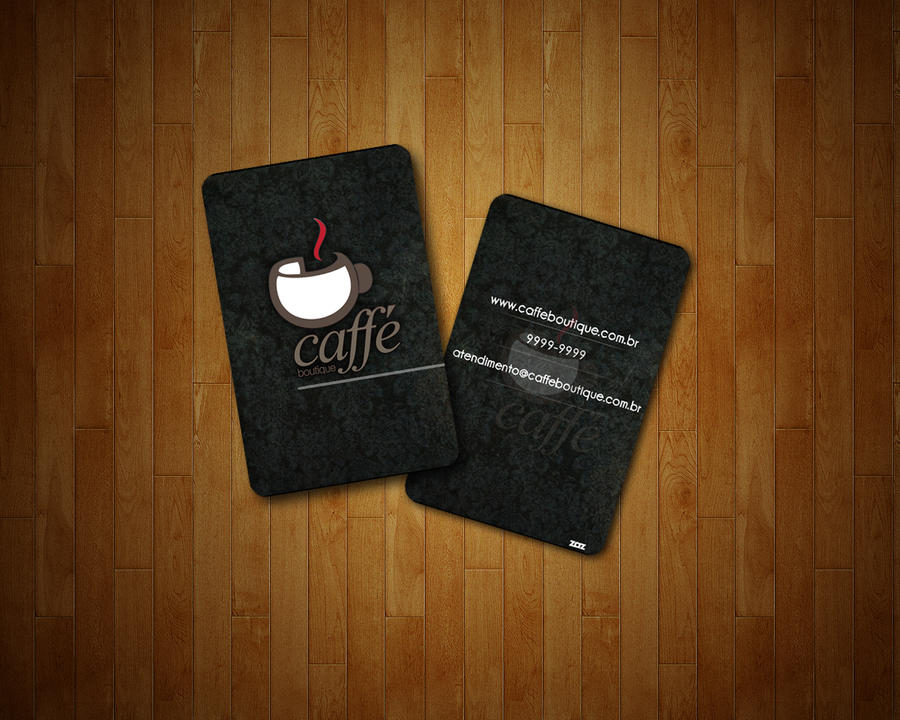 Caffe Boutique Business Card by IgoR0899 on DeviantArt