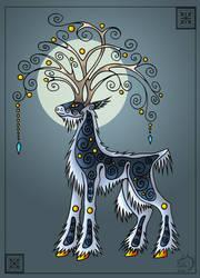 Tree-head by Gerie-Aren