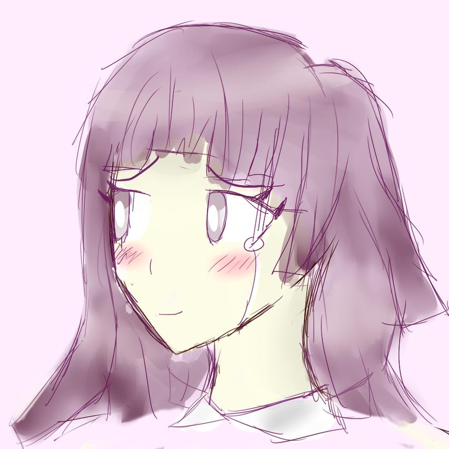 _Sketch_ Mikan by Nukealias2