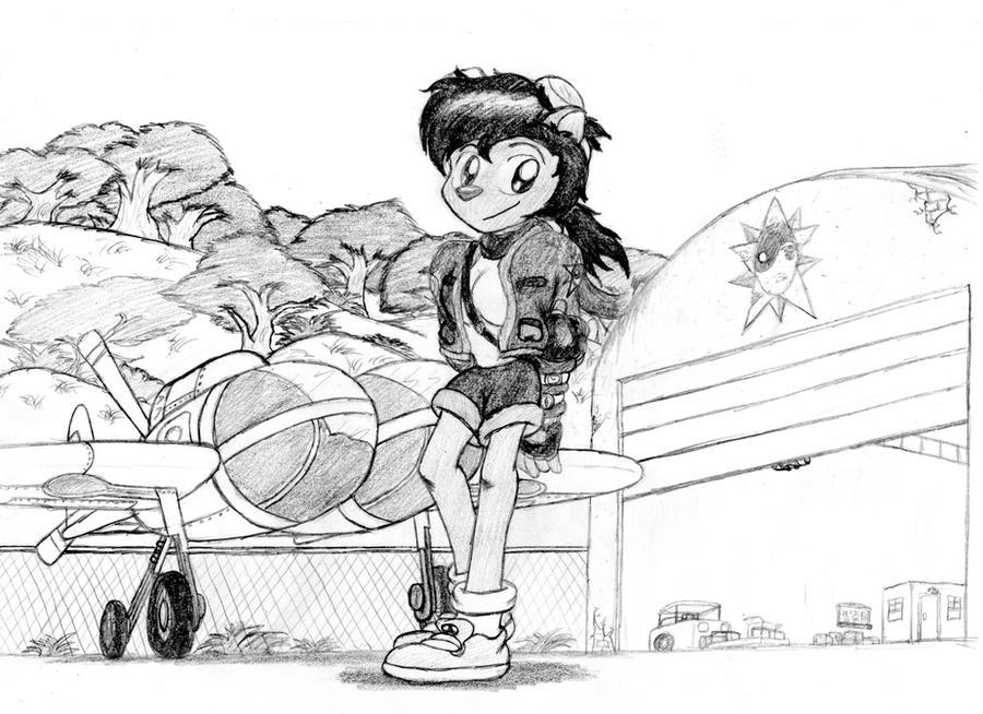 Naam Jhyia 'Pilot' by RBM-Ink