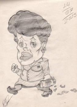Art School: Dilma Rousseff's Caricature