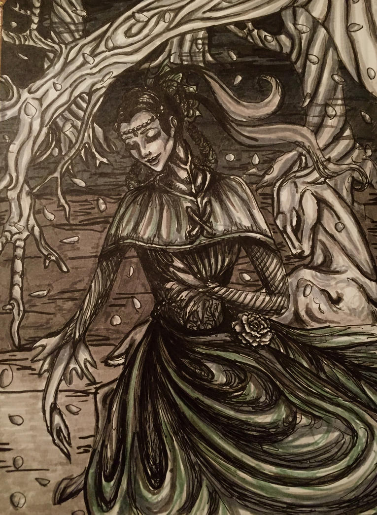 Enchanted garden by Memory-ink on DeviantArt
