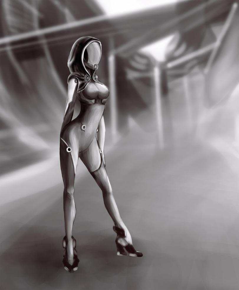 Mass Effect Tali by JustIRaziel