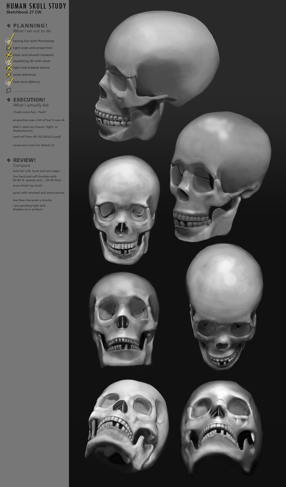 HumanHead Study CW27 by JustIRaziel