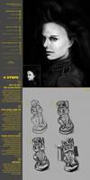 Photo Reference Vs Still life Sketchbook 51 CW