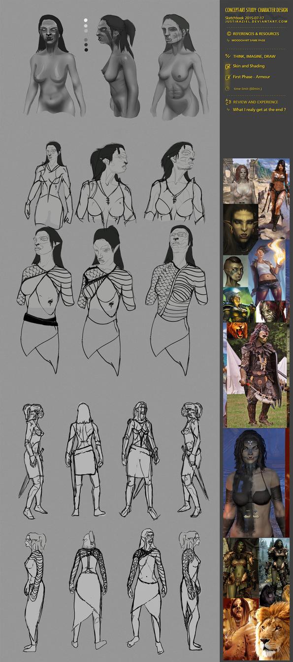 Sketchdump20150718 by JustIRaziel