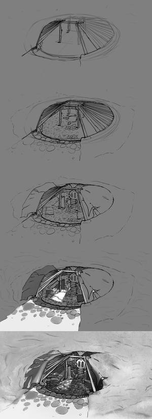 Concept Art- Noman Die