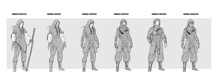 CharkterDesign_Phase2: Nomad Troops2