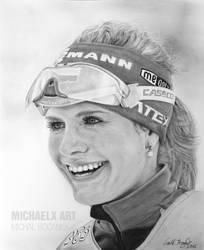 Gabriela Soukalova - Olympic medalist in biathlon