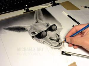 WIP pencil drawing
