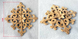 Ornament carved of wood