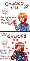 Chucky: 1988 vs 2019 (Childs Play)
