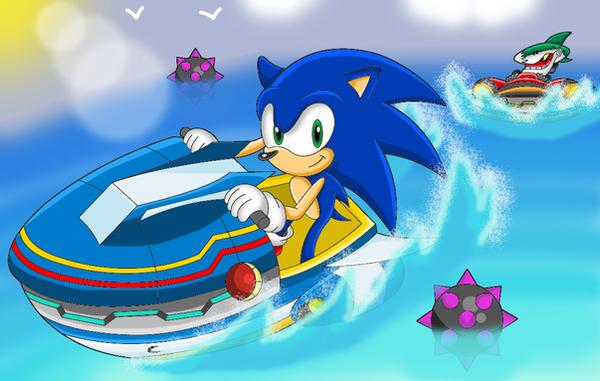 Sonic On Long Island Da Race