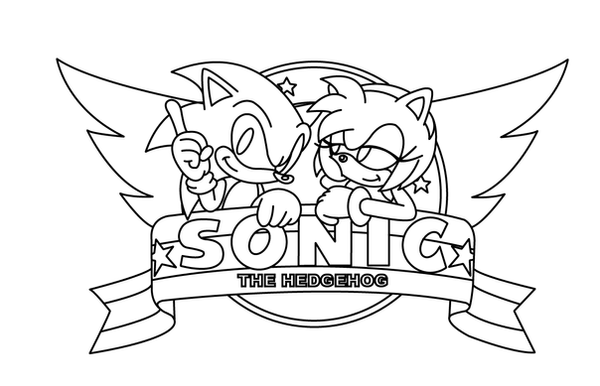 Sonic Amy Coloring Pages - Democraciaejustica