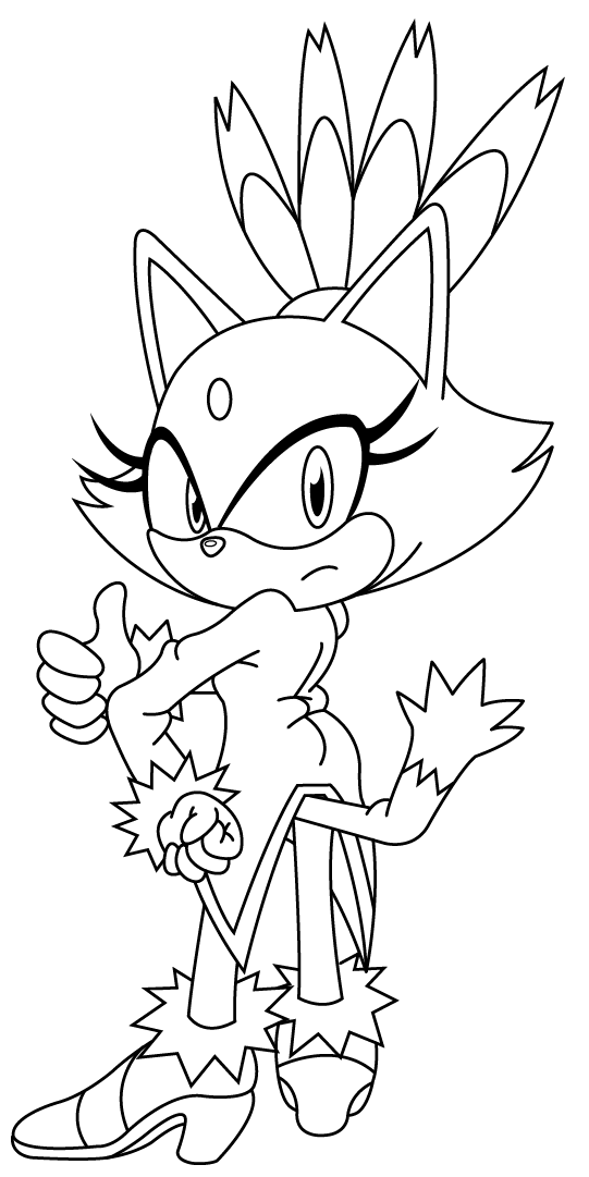 Blaze sonic girls 2 by sonictopfan on deviantart for Blaze the cat coloring pages