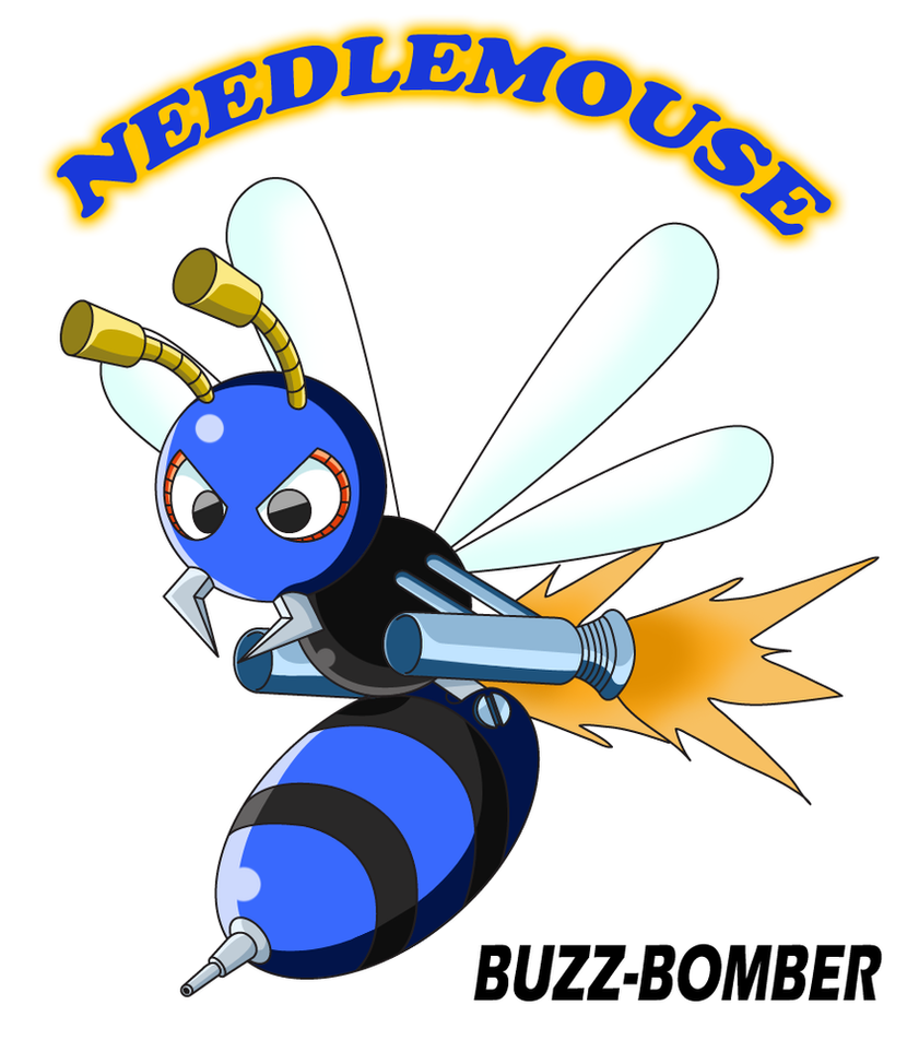 Needlemouse BUZZ-BOMBER by sonictopfan
