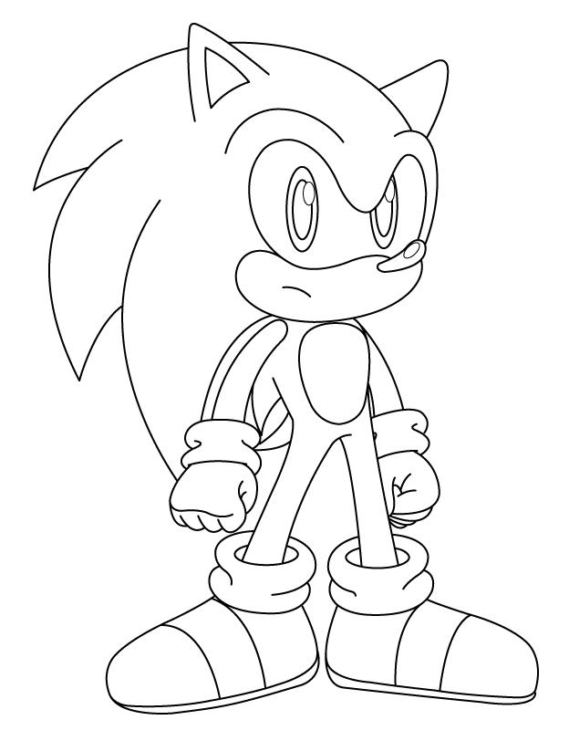 Sonic 4 Uncolored by sonictopfan on DeviantArt