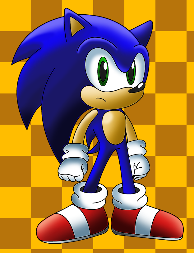 Sonic 4 Colored by sonictopfan
