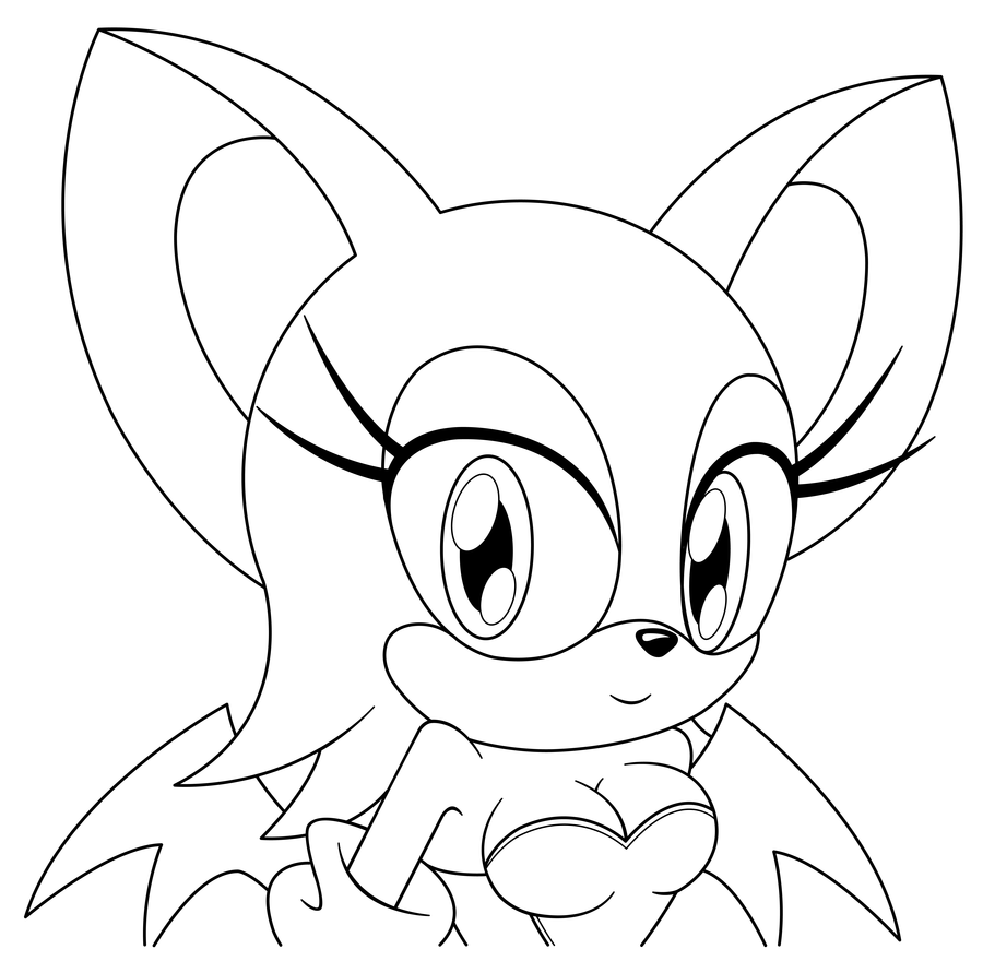 rouge coloring pages - photo#7