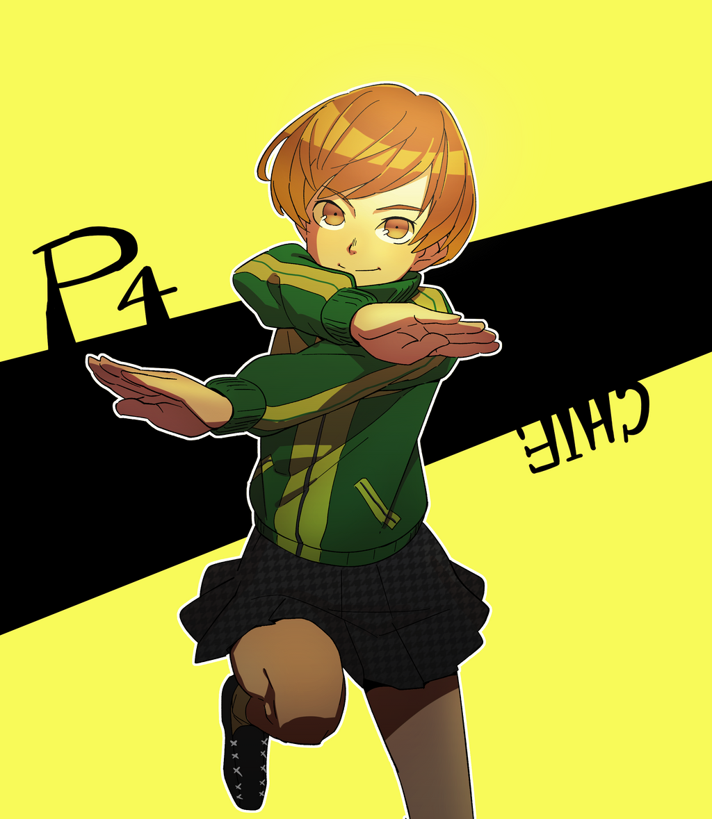 chie satonaka by monionium on deviantart
