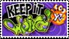Keep It Weird Stamp by Gnawsome-Opossum