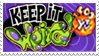 Keep It Weird Stamp by Gnawsome-Opossum