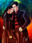 Aeryn Sun and John Crichton