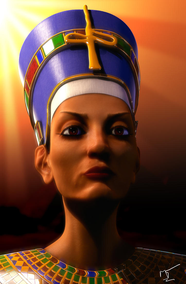 Queen Nefretiti by tomimt