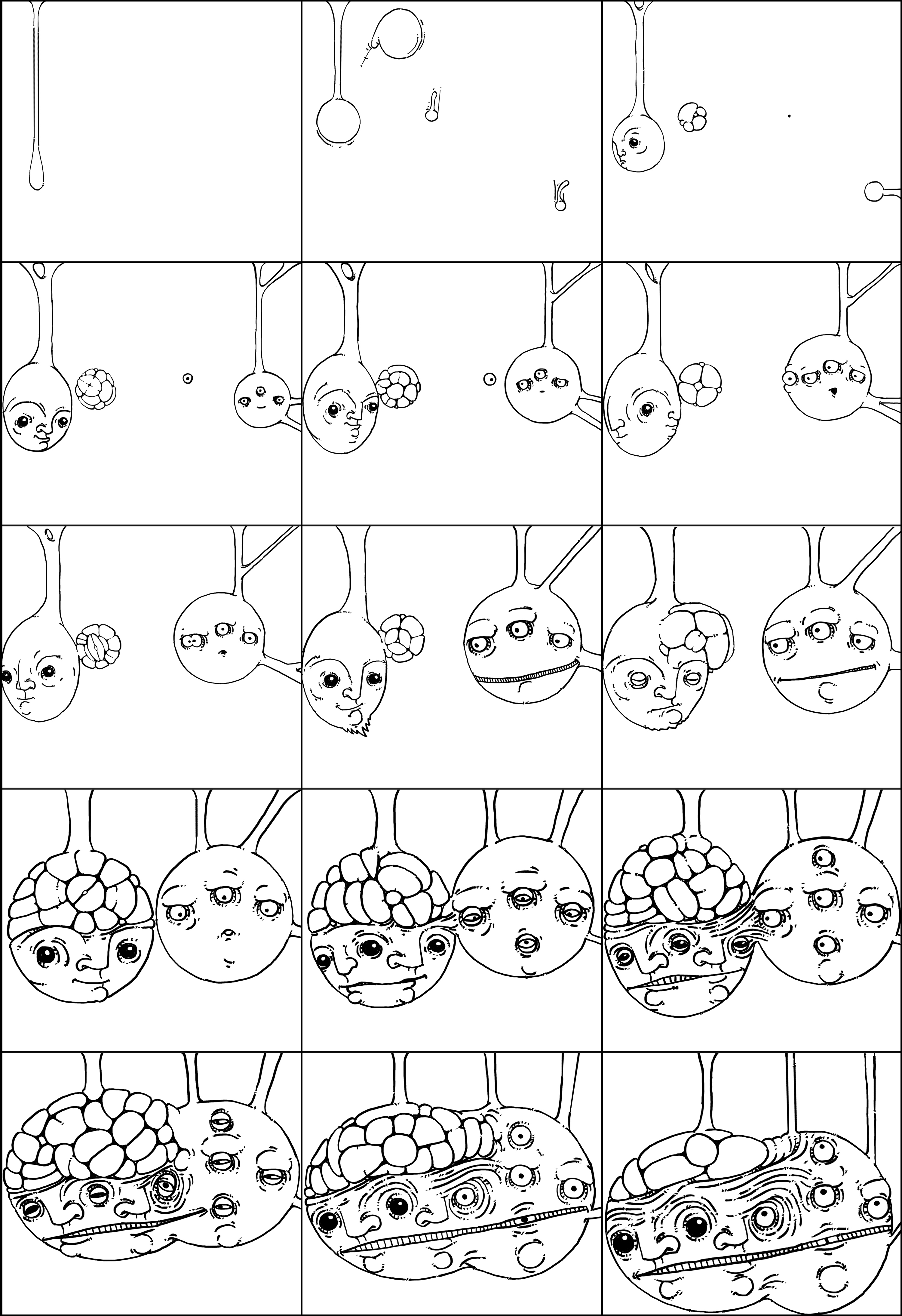 The Big Bang (Frames from Animation) by WladART on DeviantArt