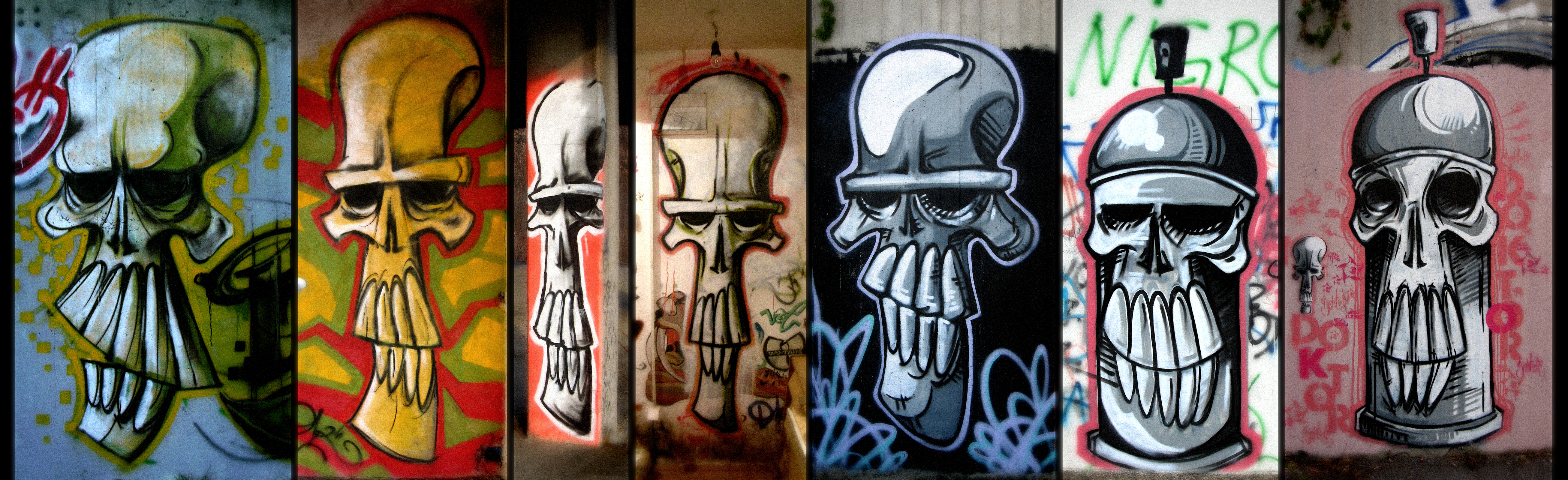 Evolution of Skull by WladART