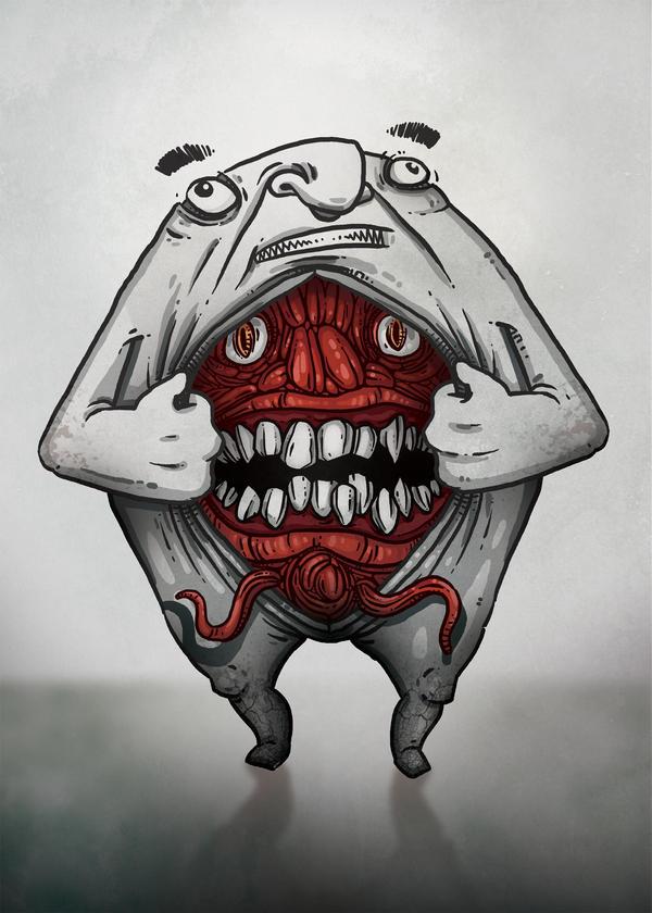 Evil Inside by WladART