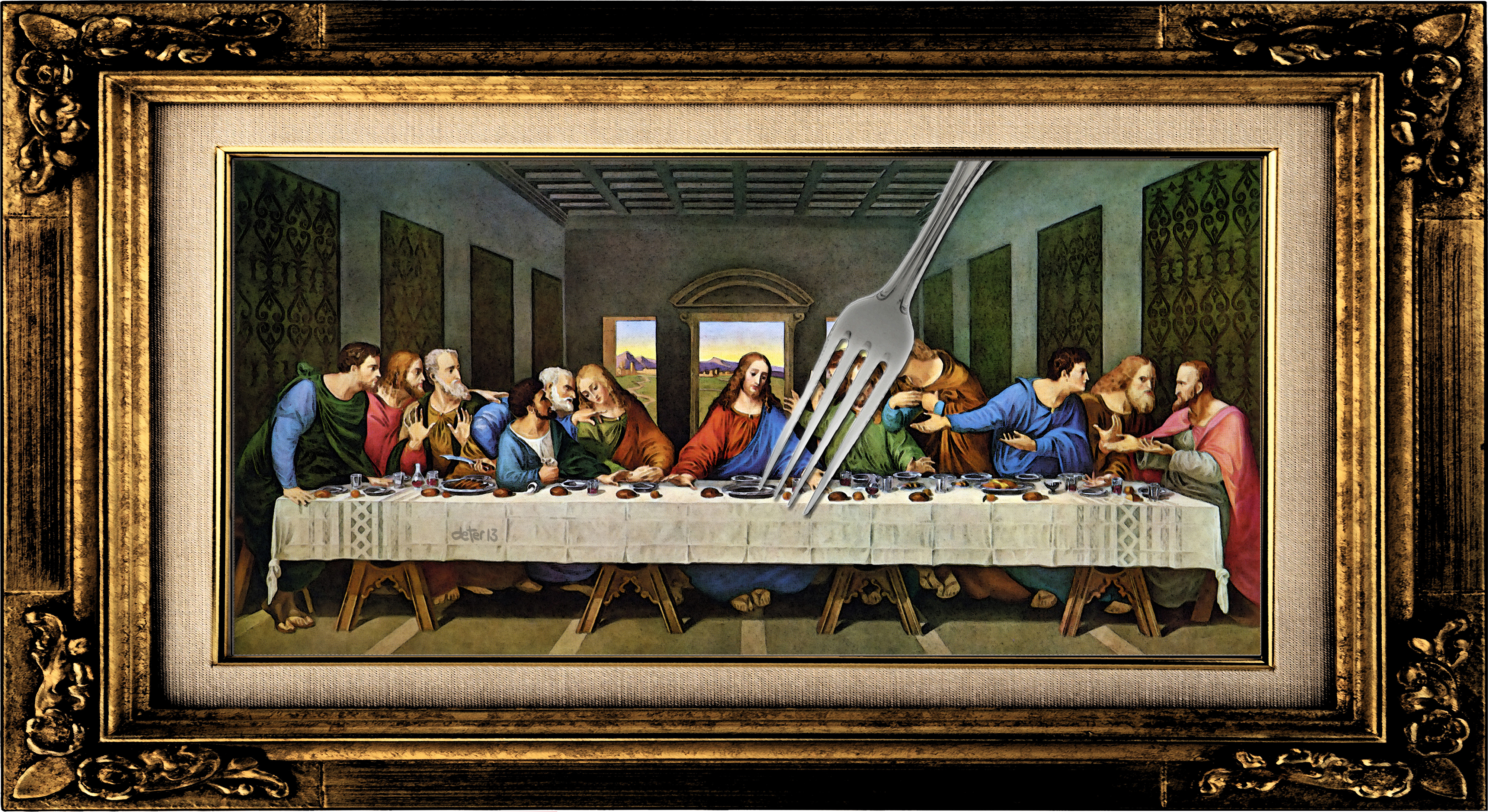 Last Supper Da Vinci Restored The last supper by leonardo da Da Vinci Last Supper Restored