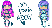 30 POINTS ICON ADOPT[OPEN] by TAEadopts