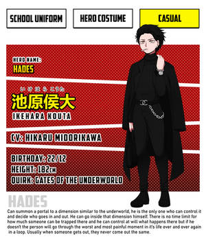 BNHA OC: Kouta Ikehara