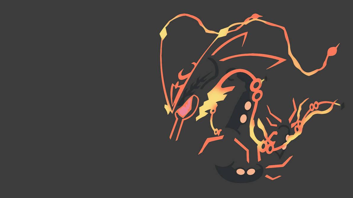 Pokemon Wallpaper Legendary Rayquaza