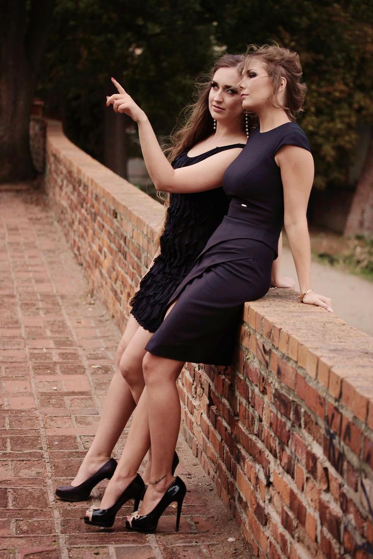 Little black dresses by Pomalujmojswiat