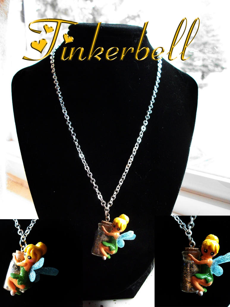 Gift for a friend tinkerbell pendant by ashivialpha on deviantart gift for a friend tinkerbell pendant by ashivialpha aloadofball Images