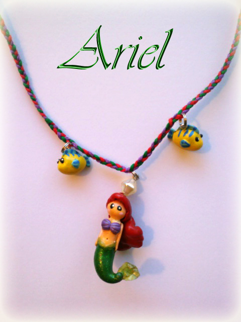 how to make a mermaid necklace