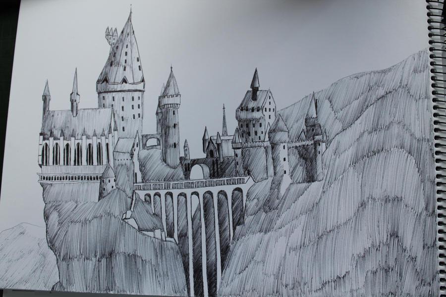 Go Back u0026gt; Gallery For u0026gt; Hogwarts Castle Drawing
