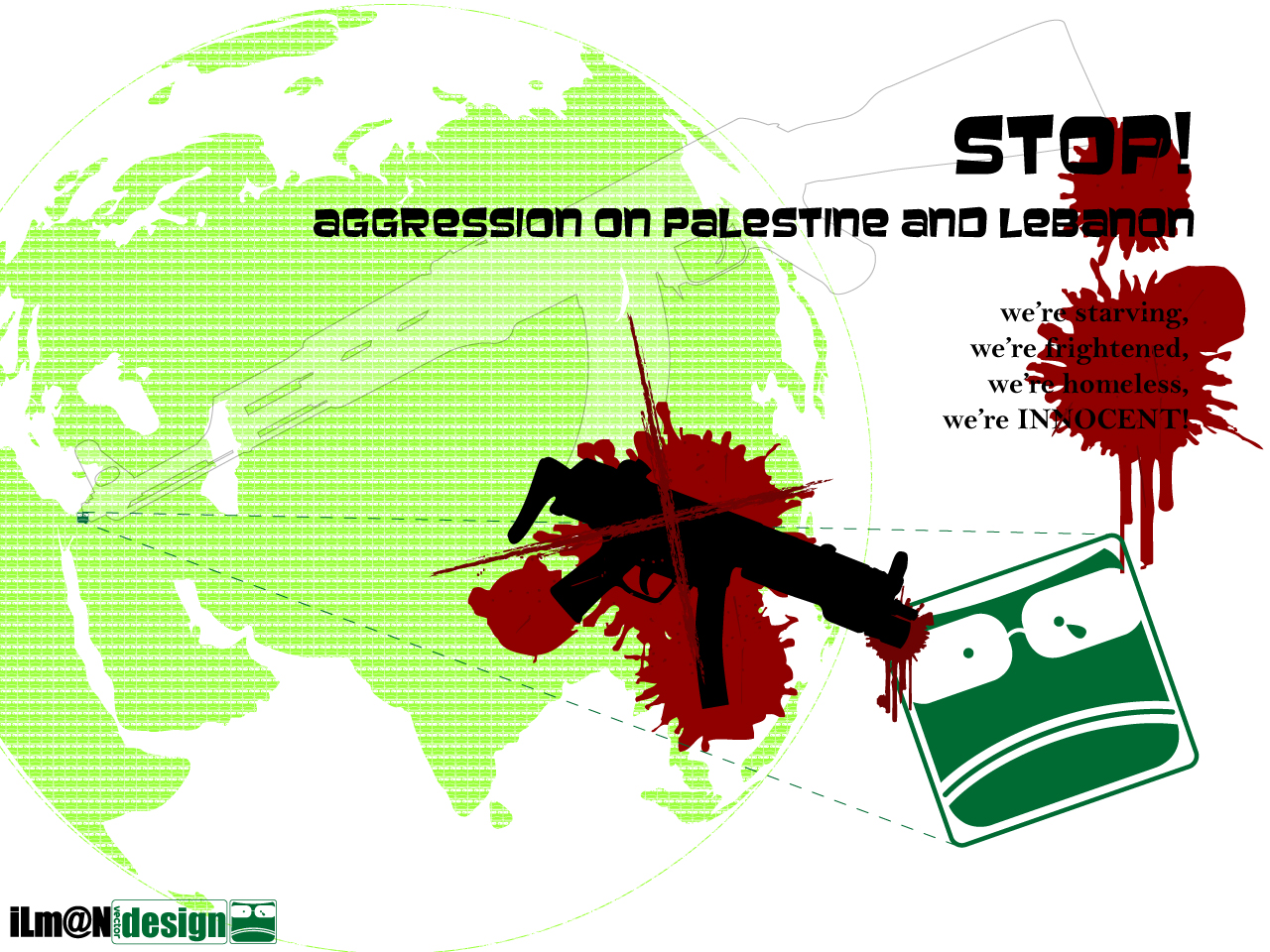 Save Palestine and Lebanon