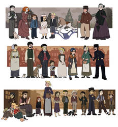 Victorian lineup by JesnCin