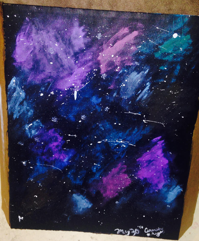 Galaxy  by Alice-KnightShadow
