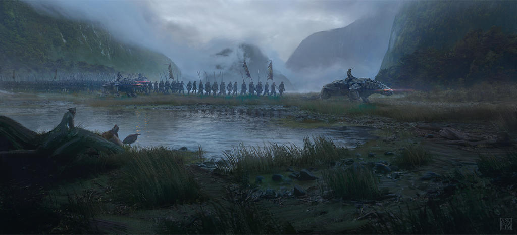 The March by Andrew-Lim
