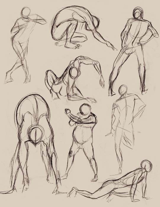 Gestures 001 by Pugletz