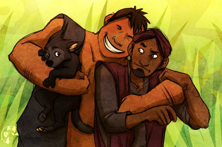 Bear Necessities by Pugletz
