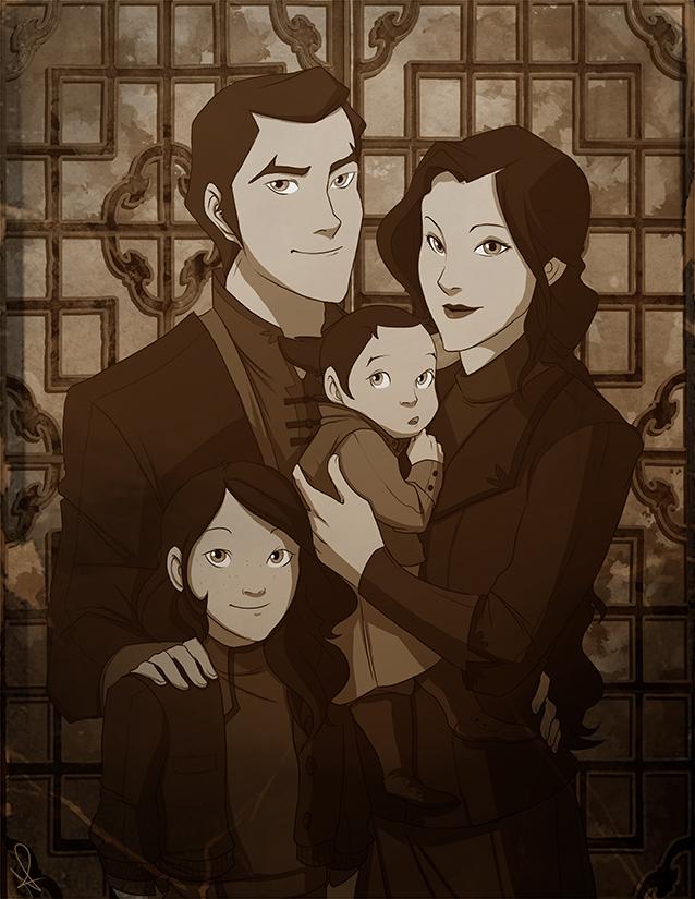 Family Portrait By Pugletz
