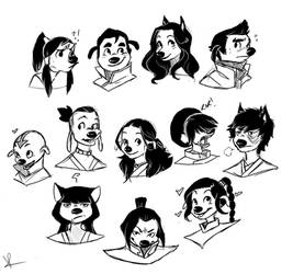 Avatar Goofies by PugCrumbs