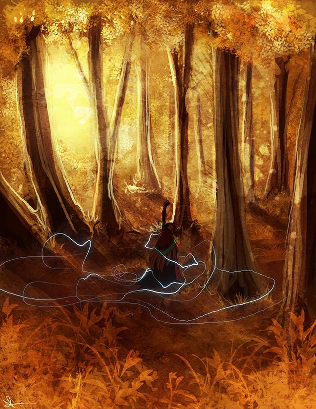 Autumn Stroll by Pugletz