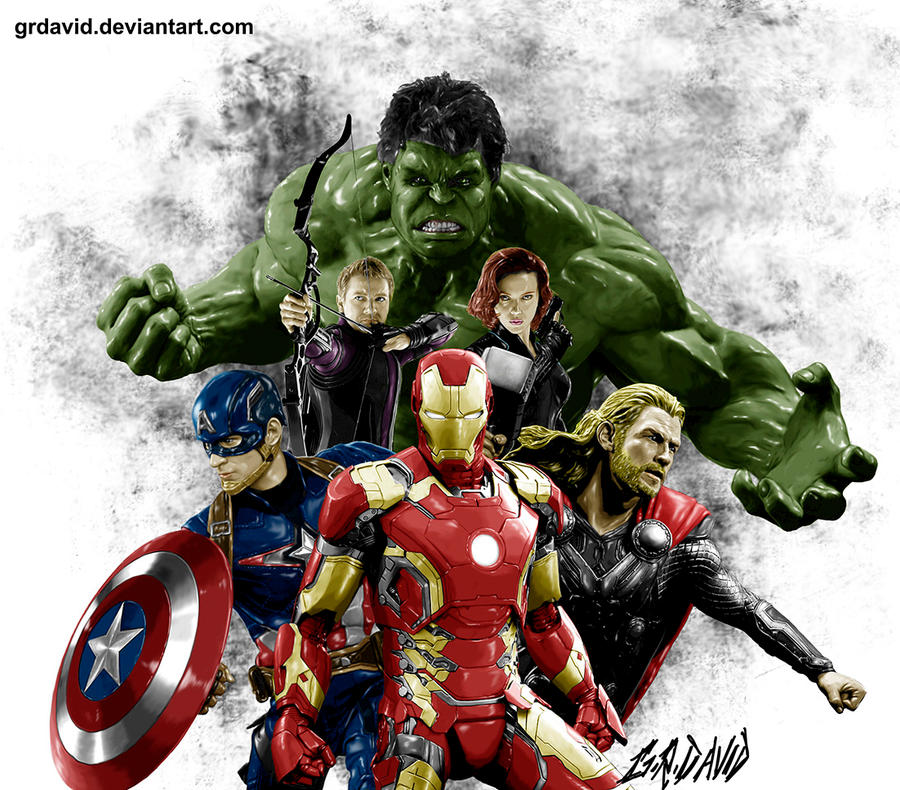 The Avengers by GRDavid